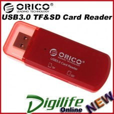 ORICO CTU33-RD CTU33 mini USB3.0 SDHC TF micro SD card Red