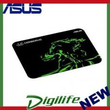 ASUS Cerberus Mat Mini Gaming Mouse Pad - Blk/Green - Small