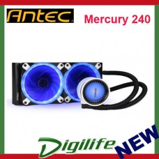 Antec Mercury 240 All In One Liquid CPU Cooler (2x120mm Fan)