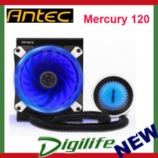 Antec Mercury 120 All In One Liquid CPU Cooler 120mm Fan
