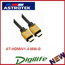 Astrotek 3m HDMI Cable - V1.4, Male to Male, 28AWG, 3D Ready, High Speed