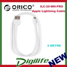 Orico 2m Apple Lightning Cable - White
