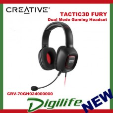 Creative Sound Blaster TACTIC3D FURY Dual Mode USB&3.5mm Gaming Headset