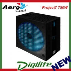 Aerocool Project7 750W 80 PLUS Platinum RGB Modular Power Supply