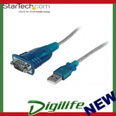STARTECH 1 Port USB to RS232 DB9 Serial Adapter Cable - M/M ICUSB232V2