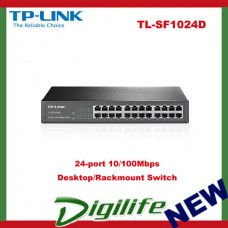 TP-LINK 24-port 10/100Mbps Desktop/Rackmount Switch - TL-SF1024D