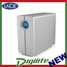 LaCie 12TB 2big Quadra USB 3.0 and FireWire 800 RAID Drive - STGL12000400