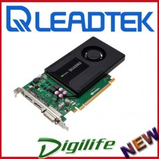 Leadtek NVIDIA Quadro K2000 2GB GDDR5 PCI-e 2.0x16 Workstation Video Card