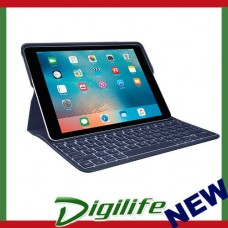 Logitech CREATE Backlit Keyboard Case for iPad pro 9.7 BLUE COLOR