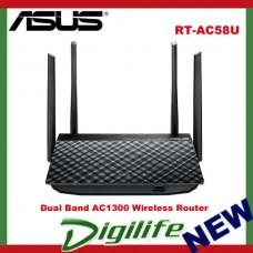 ASUS RT-AC58U AC1300 Dual Band Gigabit Wi-Fi Router NBN Ready