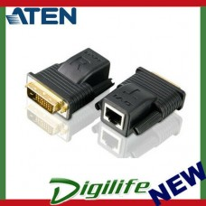 Aten VanCryst Mini DVI Over Cat5 Video Extender - 1920x1200 or 20m Max