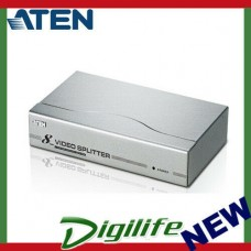 Aten 8 Port Video Splitter 300Mhz 1600x1200@60Hz Up to 30m  VS98A-AT-U