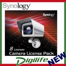 Synology NVR Surveillance Camera License 8 Pack for Synology NAS