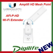 Ubiquiti AmpliFi MeshPoint HD Dual Band Wireless AC WiFi Range Extender AFI-P-HD