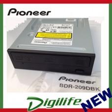 Pioneer 16X Blu-ray DVD Writer SATA BDR-209DBK 208DBK 207BK OEM