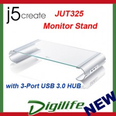 j5create JUT325 Monitor Stand with 3-Port USB 3.0 HUB