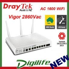 DrayTek Vigor 2860Vac VDSL2/ADSL2+ Gigabit WAN VPN Firewall Router DV2860Vac