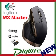 Logitech MX Master Wireless Mouse Optimized for Windows & Mac Black Colour