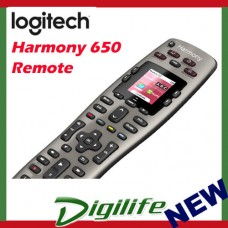 Logitech Harmony 650 Universal Remote Control 5-in-1 COLOUR SCREEN
