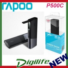 Rapoo P500C 10400mAh 2.1A Premium Power Bank w/LED Reading Light Dual Output