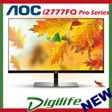 "AOC 27"" I2777FQ IPS LED Full HD Monitor 5ms VGA HDMI SPEAKER 1080P"
