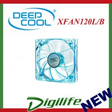 DeepCool 120mm XFAN120U Blue Frame & LED 1300RPM Fan
