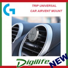 LOGITECH TRIP UNIVERSAL CAR AIRVENT MOUNT - SILVER - 1YR WTY