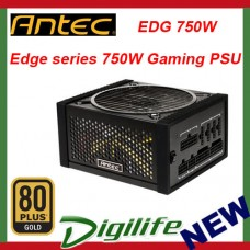 Antec EDGE 750W 80Plus Gold Modular Gaming Power Supply EDG 750W