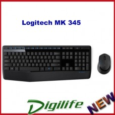 Logitech Mk345 Wireless Combo Keyboard + Mouse (Extra-long battery life)