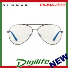 Gunnar Maverick Liquet Gunmetal Indoor Digital Eyewear GN-MAV-05009