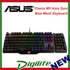 ASUS ROG Claymore BLUE MA01 Aura Sync and Cherry MX RGB switches