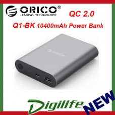 Orico Q1-BK 10400mAh Quick Charge 2.0 Power Bank
