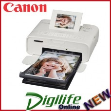 Canon Selphy CP1200 Portable Wireless Color Photo Wi-fi Printer AirPrint White