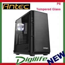 Antec P8 Front USB 3.0 ATX  mATX Tempered Glass Mid Tower Case