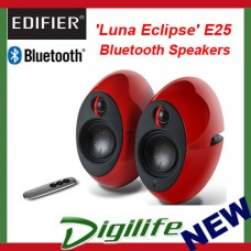 Edifier E25 Luna Eclipse Bluetooth Speakers Red E25-RD