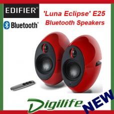 Edifier E25 Luna Eclipse Bluetooth Speakers Red E25-RD