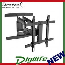 "Brateck New Full-motion Wall Mount Bracket For most 32""-65"" Curved & Flat Panel"