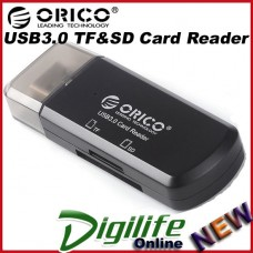 ORICO CTU33-BK CTU33 mini USB3.0 SDHC TF micro SD card Black