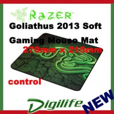 Razer Goliathus 2013 Soft Gaming Mouse Mat - Small Control FRML (270mm x 215mm)