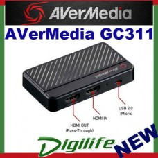 AVerMedia GC311 Live Gamer MINI for Full HD Gameplay Micro USB for PC or Mac