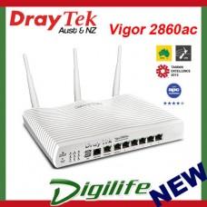 DrayTek Vigor 2860ac VDSL2/ADSL2+ Gigabit WAN VPN Firewall Router DV2860ac
