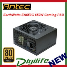 Antec EarthWatts EA650G 650W 80+ Gold ATX Gaming Power Supply PSU
