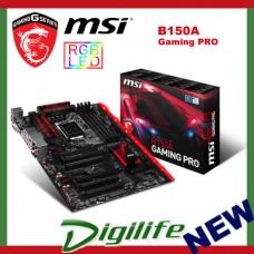 MSI B150A Gaming Pro LGA 1151 Motherboard - B150A-Gaming Pro