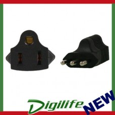 InLine US 3 Pin to Italy 3 Pin Plug Adapter PA-4515
