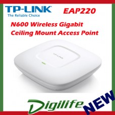 TP-Link EAP220 N600 Wireless GbE Enterprise AP Ceiling Mount Access Point POE