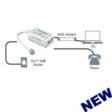 TP-LINK TD-S201A Splitter / Filter For AU ADSL ADSL2+ In-line