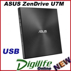 ASUS ZenDrive U7M External CD DVD/RW Writer Ultra Slim USB M-Disc SDRW-08U7M