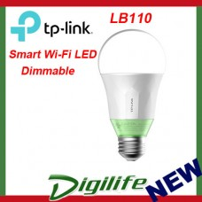TP-Link LB110 Smart Wi-Fi LED Bulb with Dimmable Light for Google Home mini