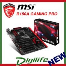 MSI B150A Gaming Pro LGA 1151 Motherboard