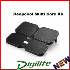 Deepcool Multi Core X6 Notebook Cooler With 4 Fans & 2 USB ports